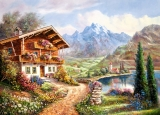 Castorland Puzzle HIGH COUNTRY RETREAT 2000 dielikov